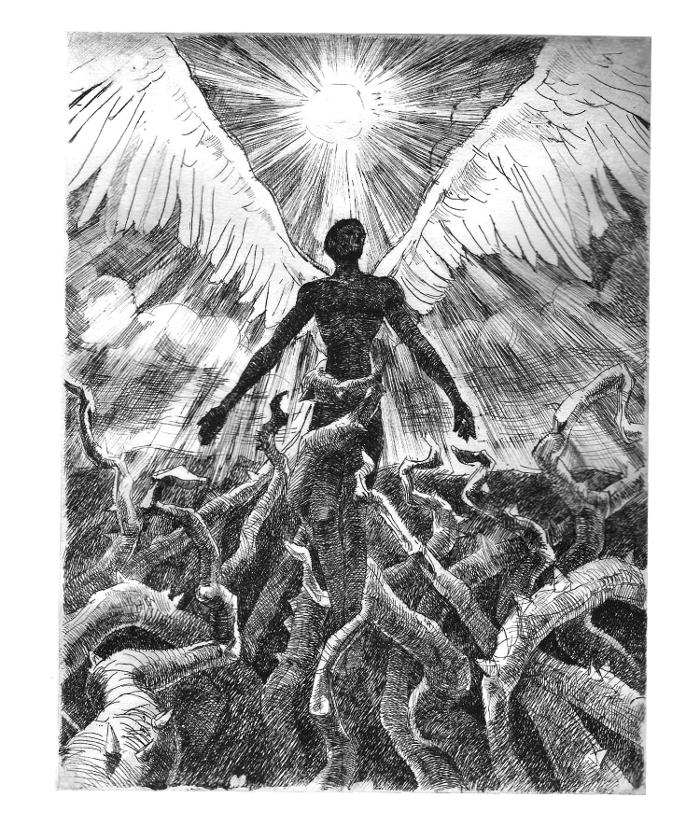 илюстрация от Юлиан Манев